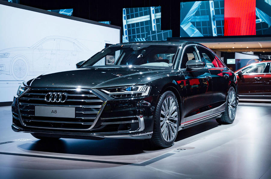 Audi A8 leads way for five new models in 2018 | Autocar
