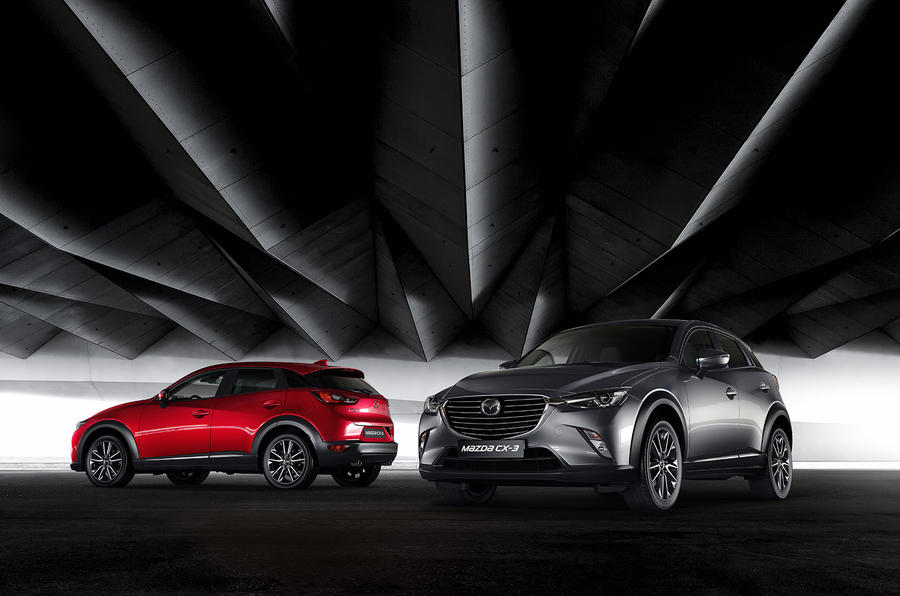 500 limited edition GT Sport CX-3s will be produced; new trim sits above Sport Nav