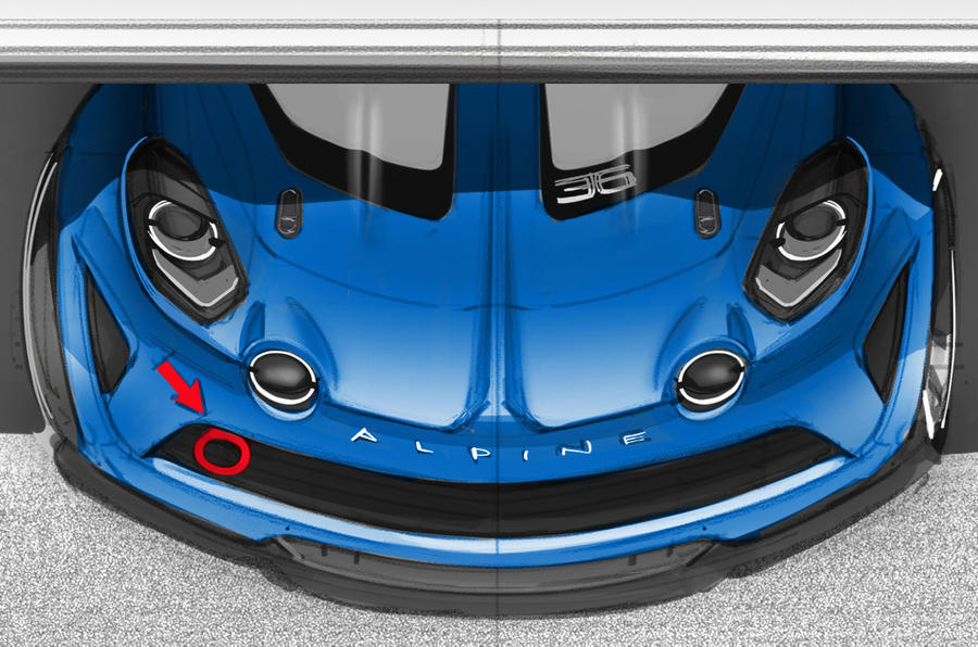 Extreme Alpine A110 Cup Racing Model Previewed In Sketch