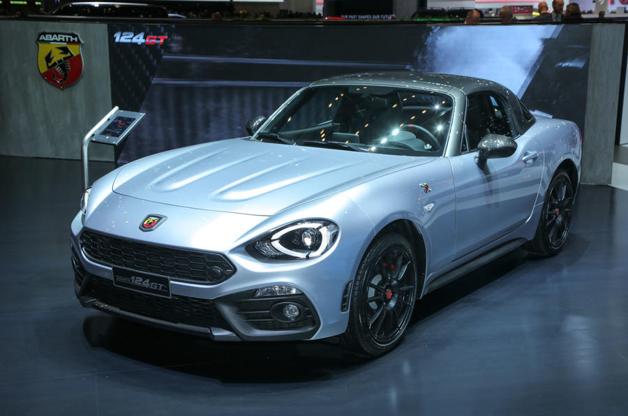 Abarth 124 Gt Revealed With Removable Hard Top Autocar