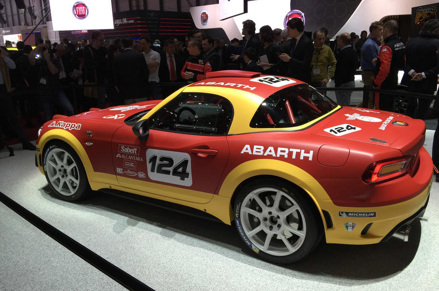Fantastic Abarth Goes Back To Motorsport With New 124 Rally Car
