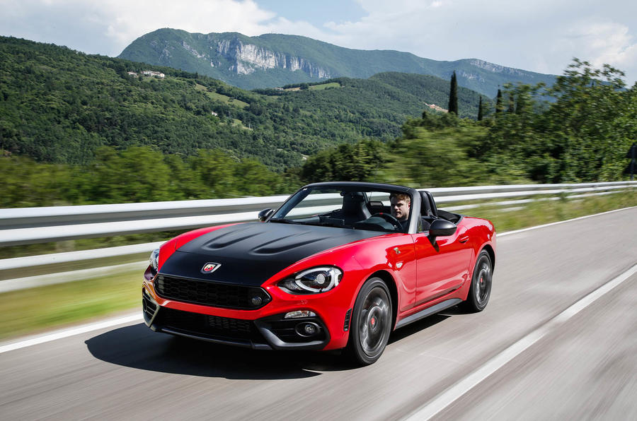 2016 Abarth 124 Spider Prototype Drive Review Autocar