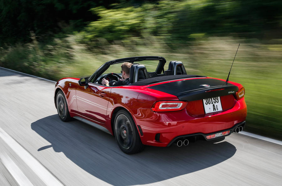 168bhp Abarth 124 Spider prototype