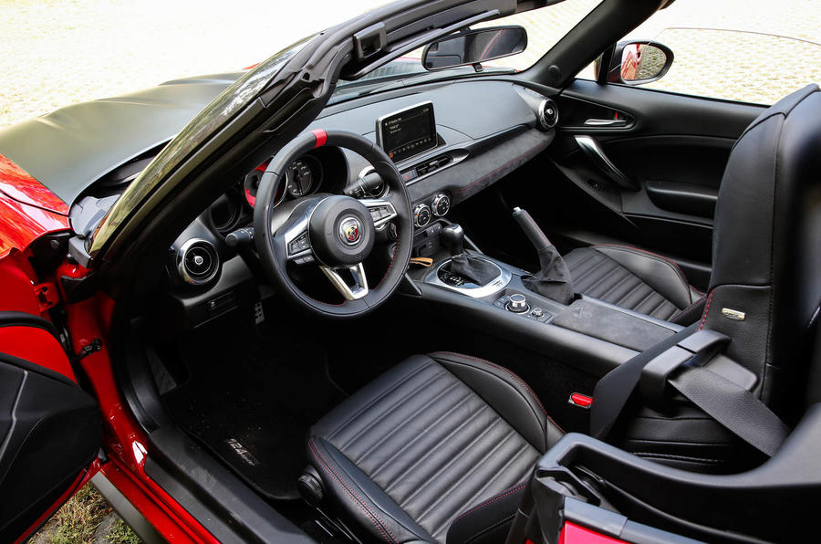 Luxury 2016 Abarth 124 Spider Prototype Drive Review  Autocar