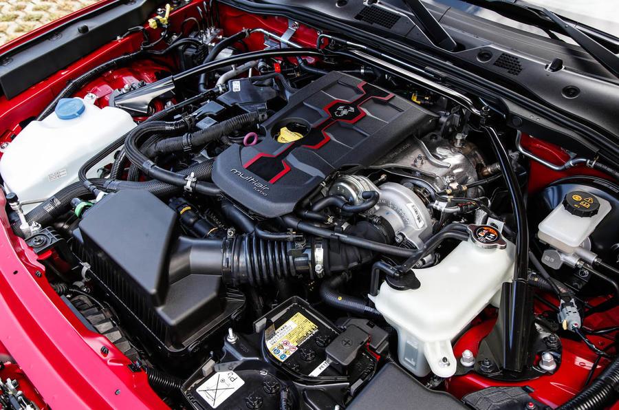 1.4-litre Abarth 124 Spider prototype engine