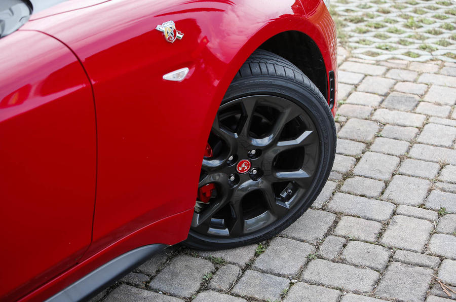 Abarth 124 Spider prototype alloys
