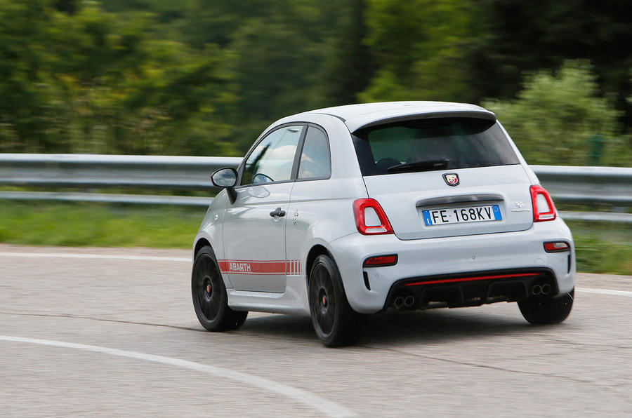 2016 abarth 595 competizione review review autocar. Black Bedroom Furniture Sets. Home Design Ideas