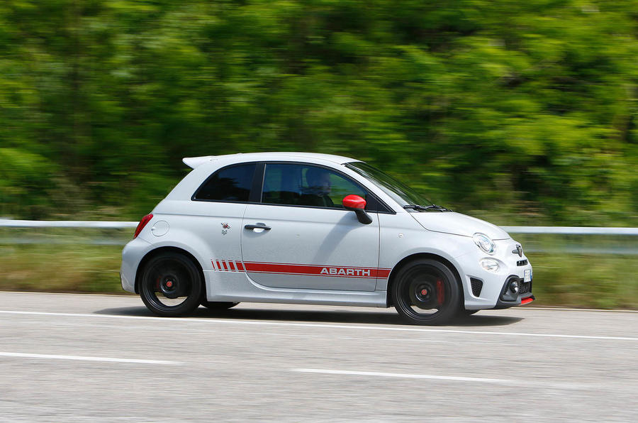2016 abarth 595 competizione review autocar. Black Bedroom Furniture Sets. Home Design Ideas