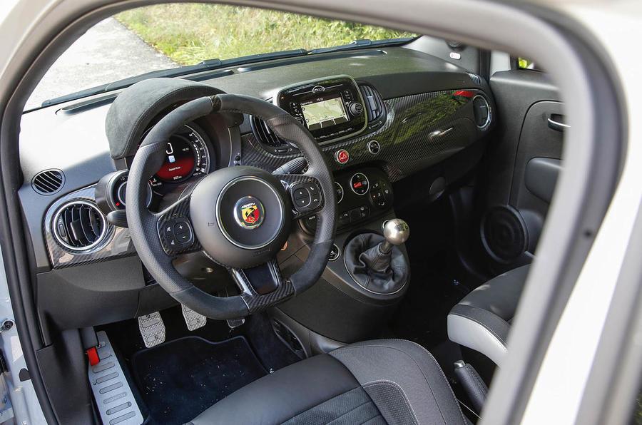 2016 Fiat 500 Abarth >> 2016 Abarth 595 Competizione review review   Autocar