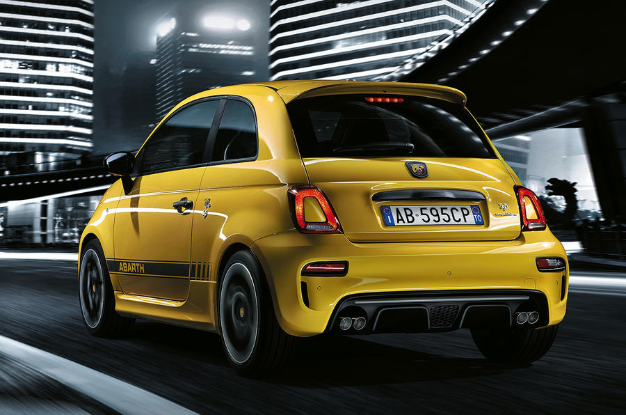 2016 abarth 595 range gets more power and new tech autocar. Black Bedroom Furniture Sets. Home Design Ideas