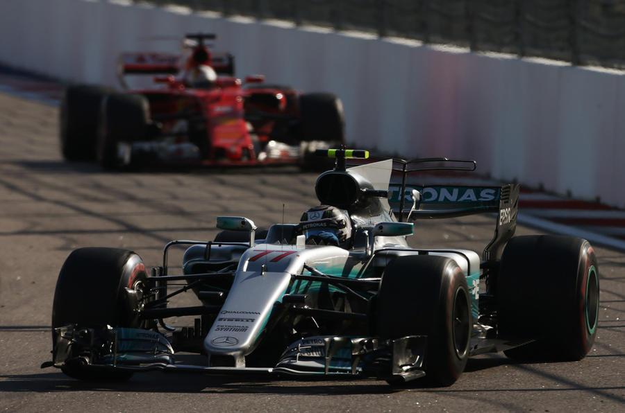 Bottas led home Vettel in Sochi