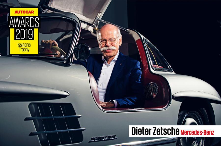Dieter Zetsche wins Issigonis Award