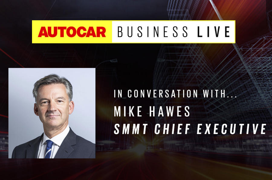 Autocar Business live - Mike Hawes