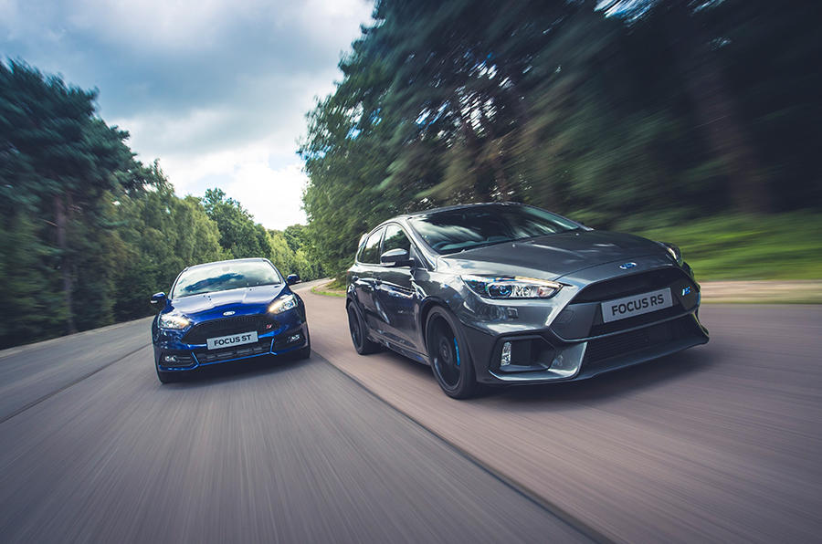 The Ford Focus ST and Focus RS go head-to-head in our ultimate comparison