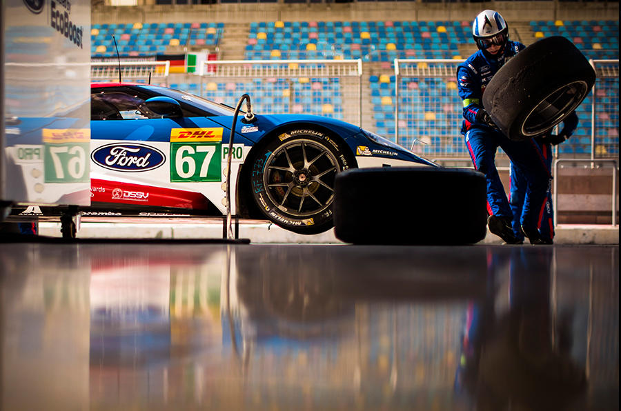 The Ford GT team won the GTE class of the 2016 Le Mans 24 Hours at its first attempt