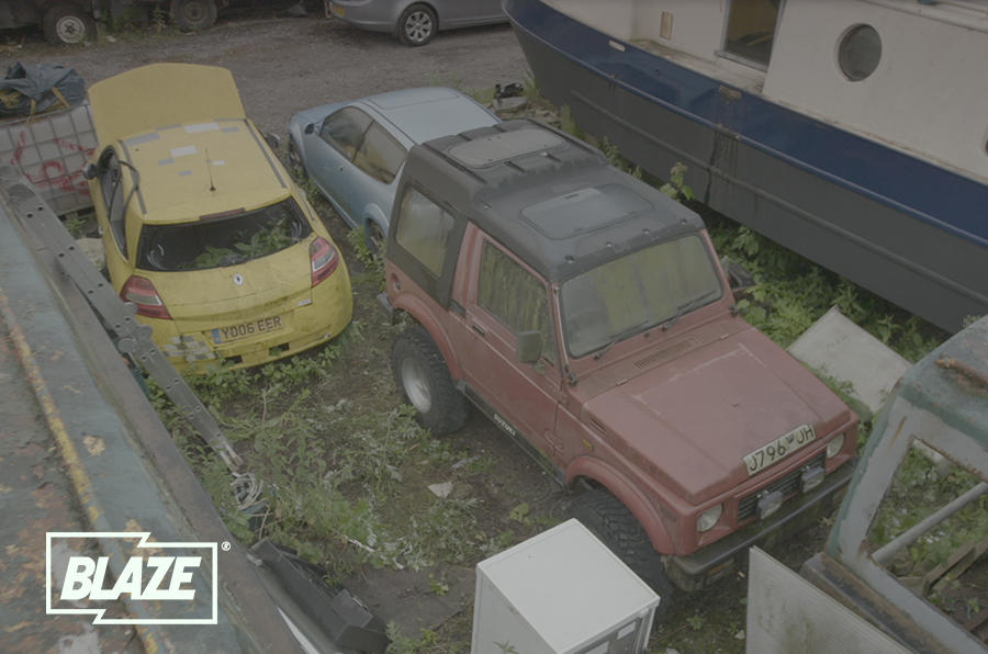 The Flipping Bangers team headed off-road for episode four, finding and restoring this much maligned Suzuki SJ