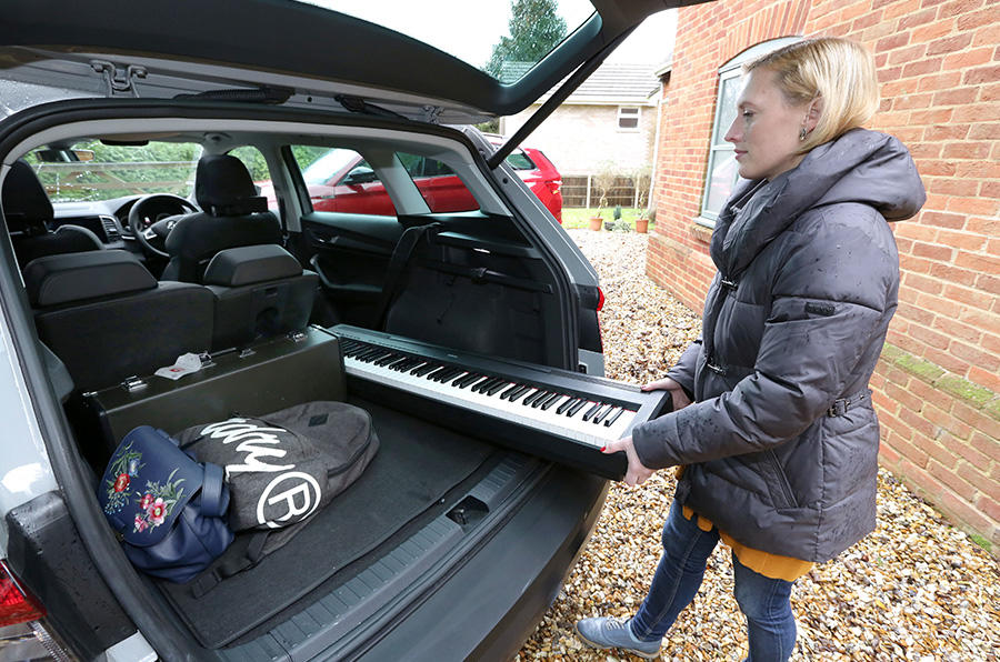 The Skoda Karoq's highly adjustable and removable Varioflex seats let you choose more people or more load