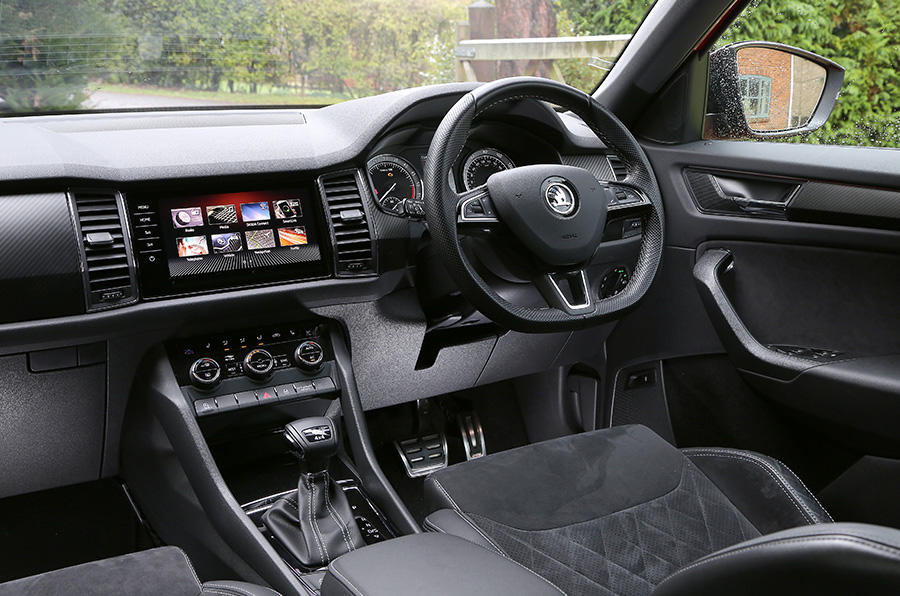 Both the Skoda Karoq and Kodiaq feature comfortable and stylish interiors that are packed with tech and clever features