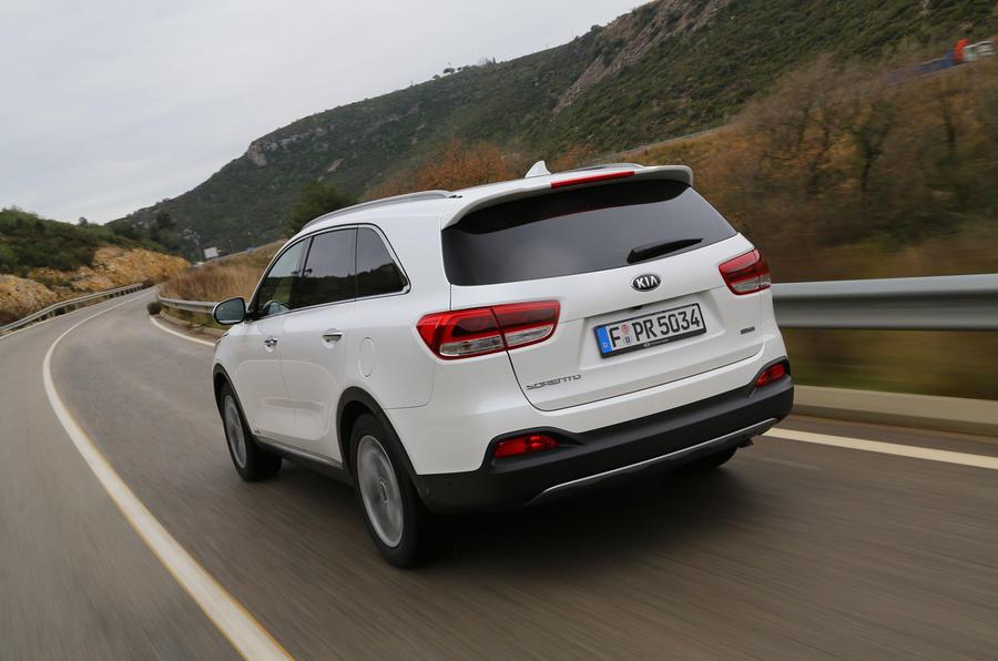 Kia Sorento KX4 rear