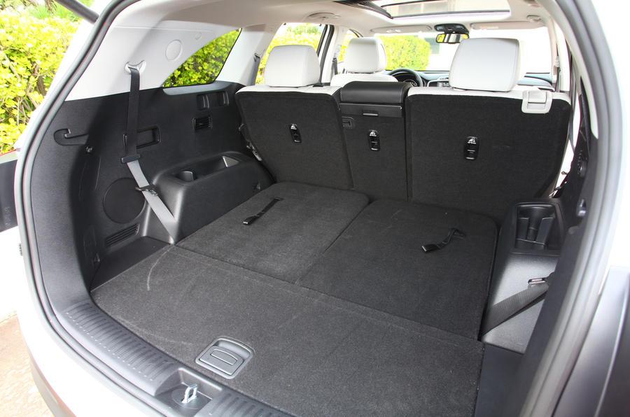 Kia Sorento extended boot space