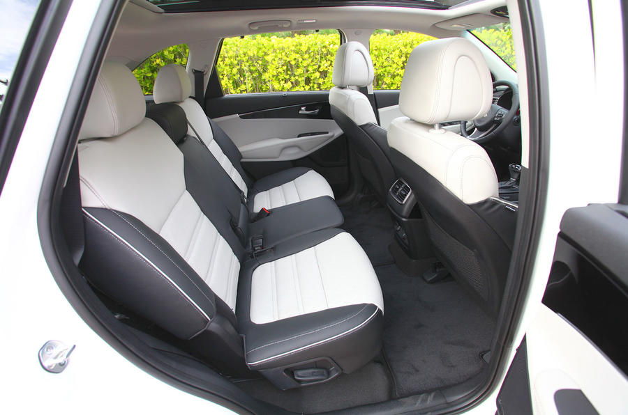 Kia Sorento rear seats