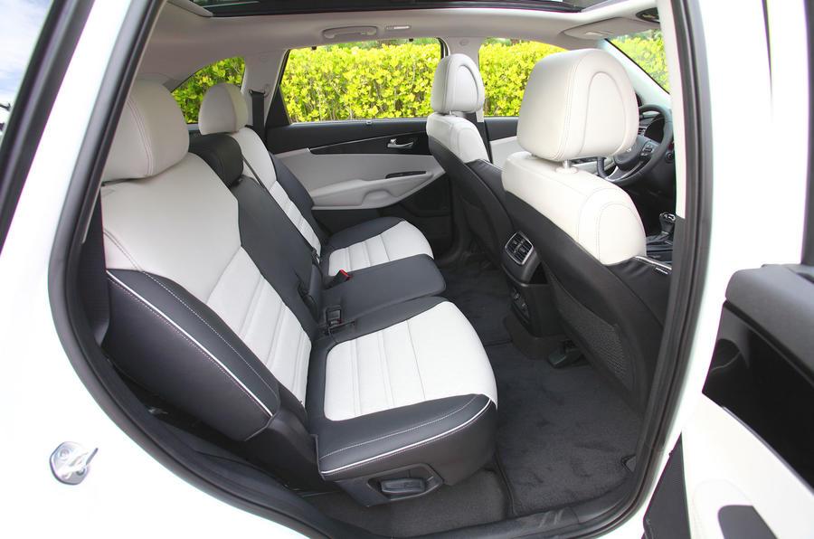 Kia Sorento rear seats