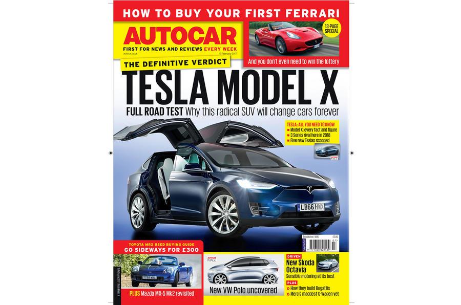 Autocar magazine 15 February cover