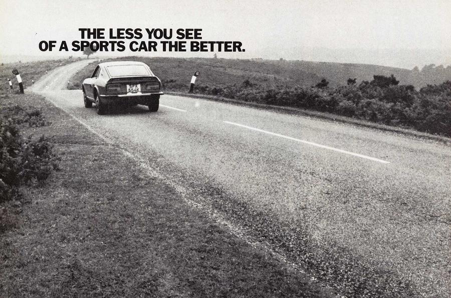 Datsun 240Z advert 1972