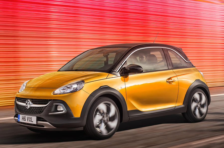 Vauxhall Adam Rocks killed by slow sales