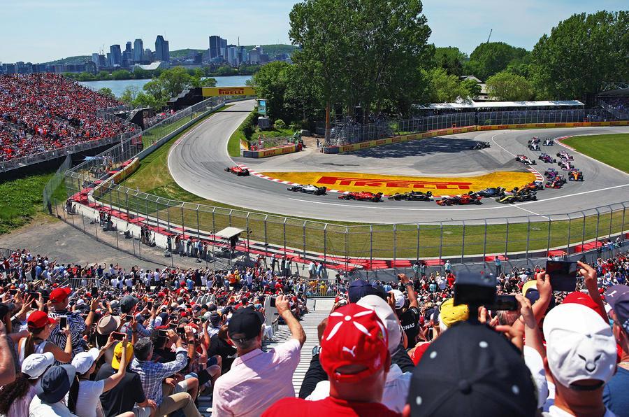 F1 crowds