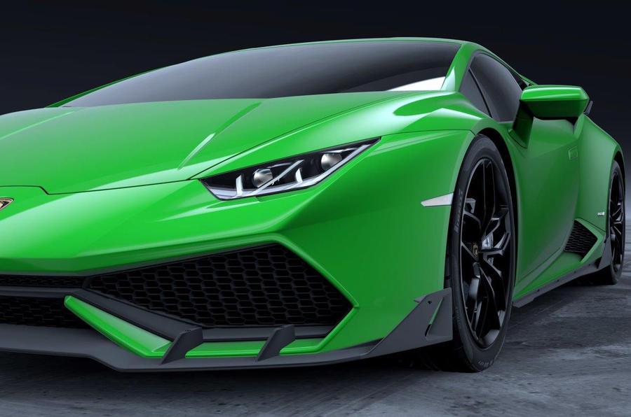 Lamborghini Hurac 225 N Gets New Carbonfibre Aero Kit Autocar