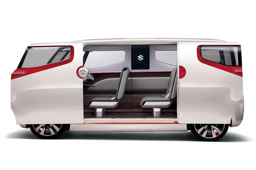 Suzuki Air Triser Concept Has Hints Of Baby Vw Microbus
