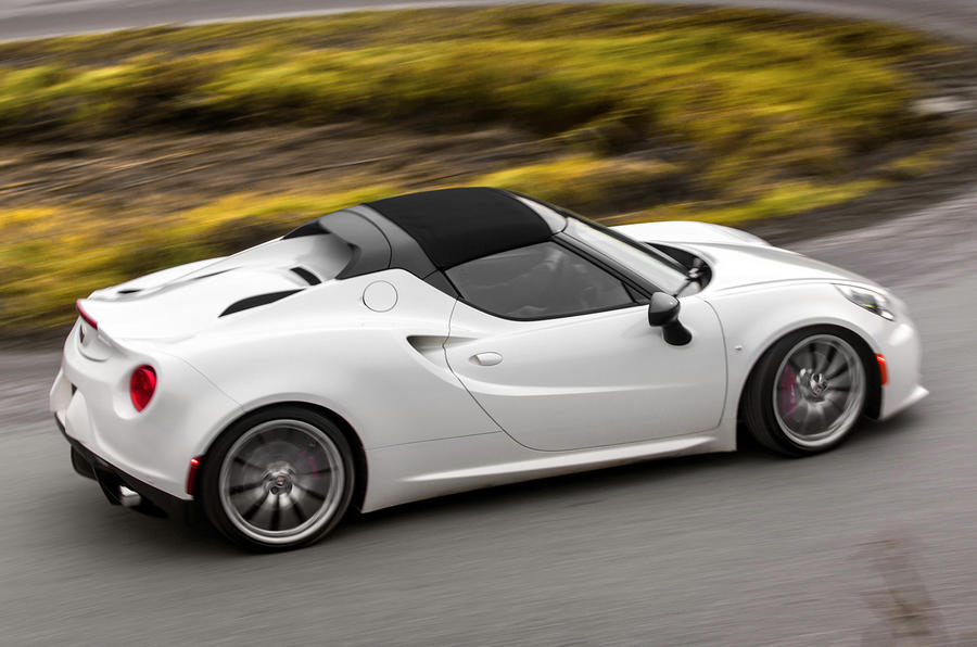 alfa romeo 4c spider to cost from just under £60,000 | autocar