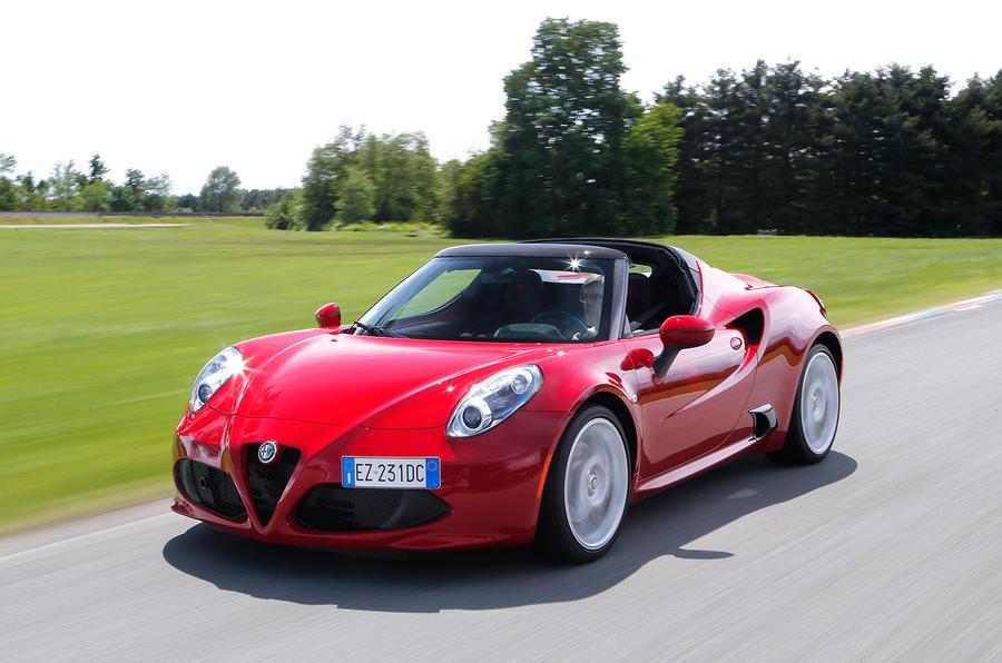 £59,500 Alfa Romeo 4C Spider