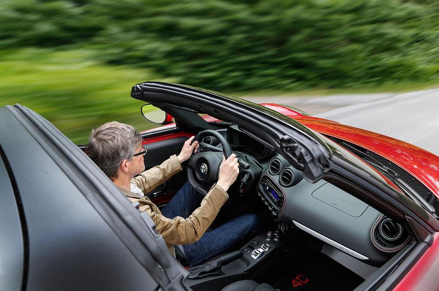 Driving the Alfa Romeo 4C Spider