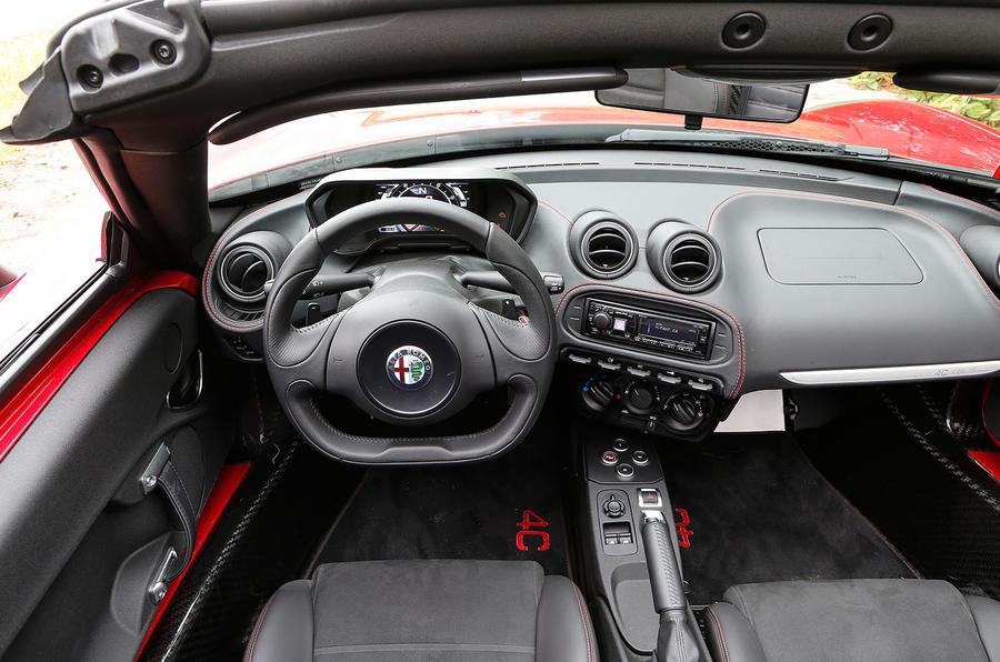 2015 Alfa Romeo 4c Spider Review Autocar