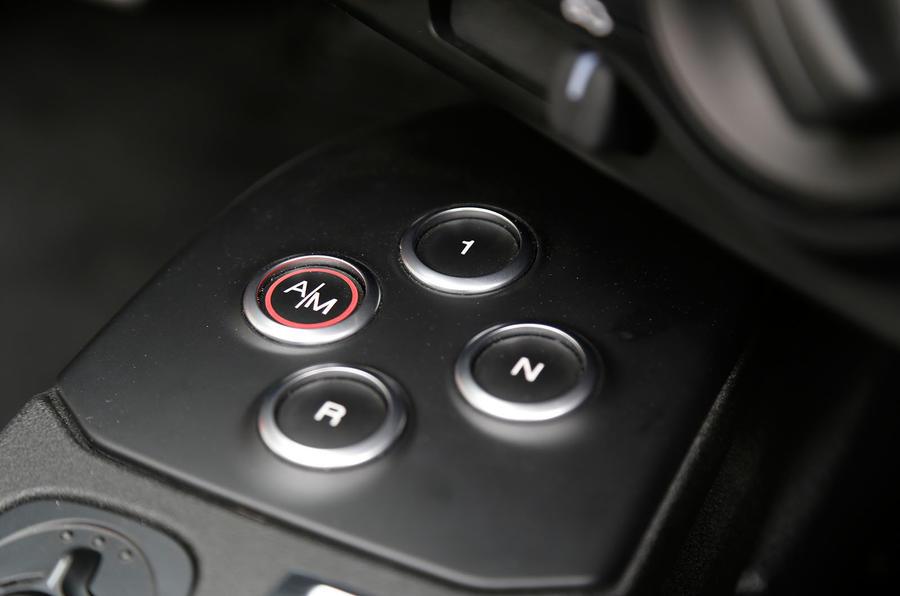 Alfa Romeo 4C Spider auto gearbox