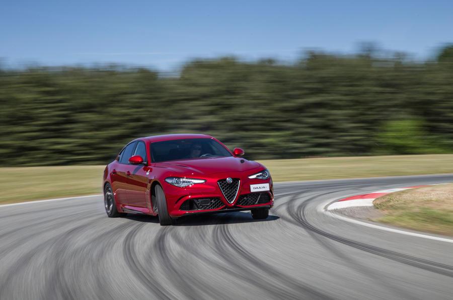 Drifting the Alfa Romeo Giulia Quadrifoglio
