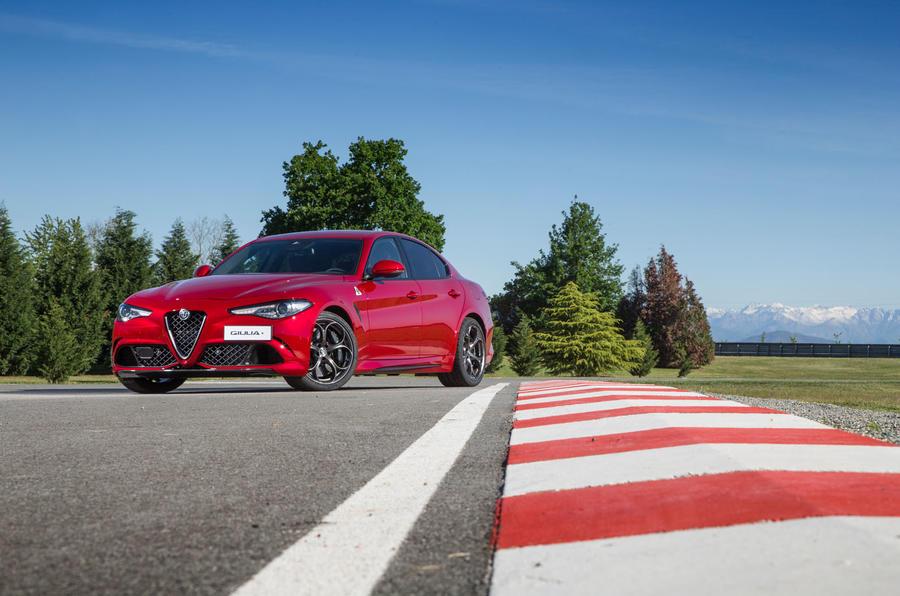 4 star Alfa Romeo Giulia Quadrifoglio