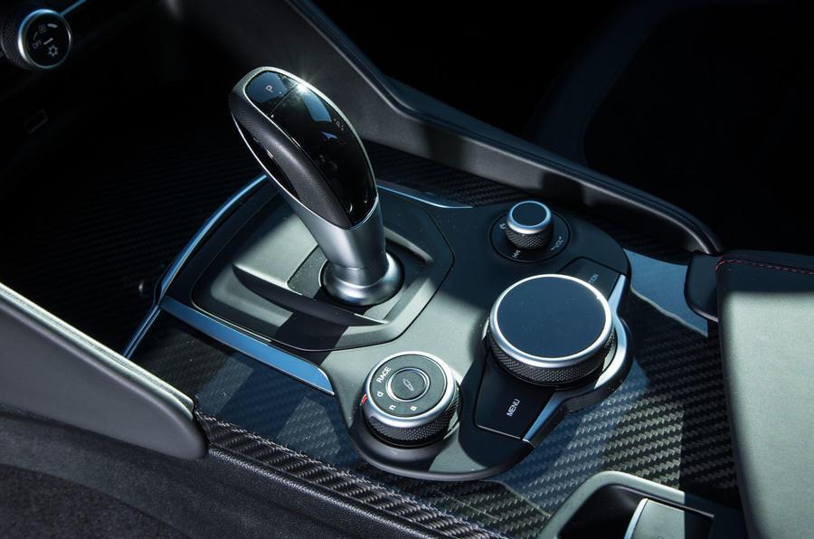 Alfa Romeo Giulia Quadrifoglio auto gearbox
