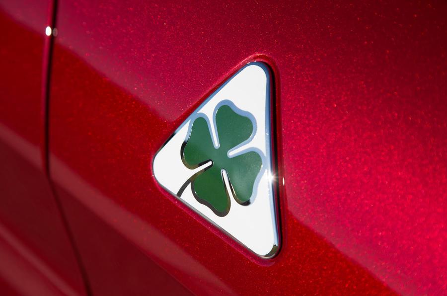 Alfa Romeo Cloverleaf badging