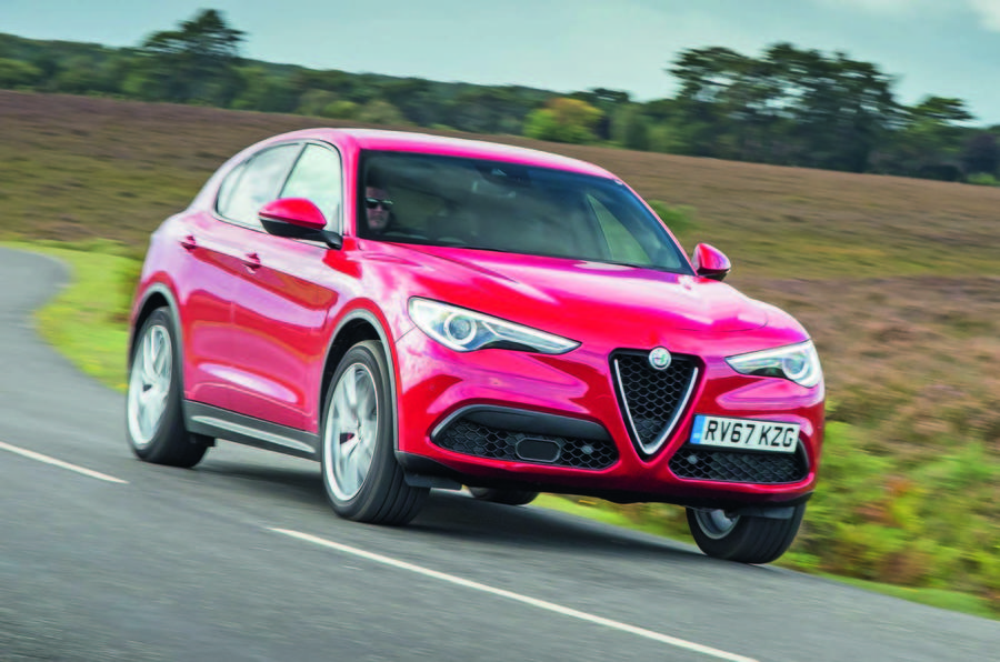 alfa romeo to bolster suv range with performance hybrids and larger model autocar. Black Bedroom Furniture Sets. Home Design Ideas