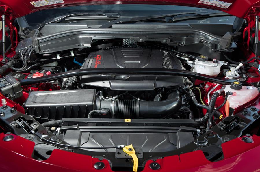 2.0-litre Alfa Romeo Stelvio petrol engine