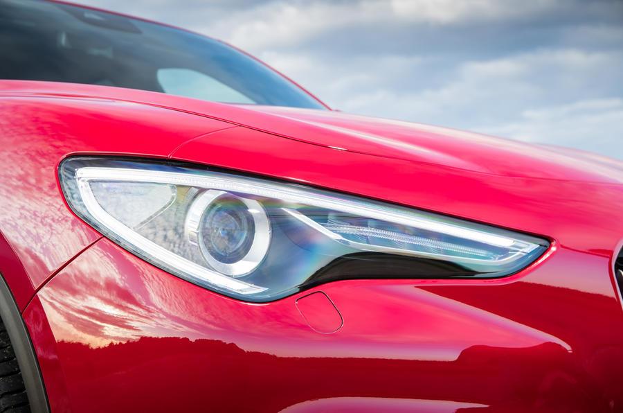 Alfa Romeo Stelvio headlight