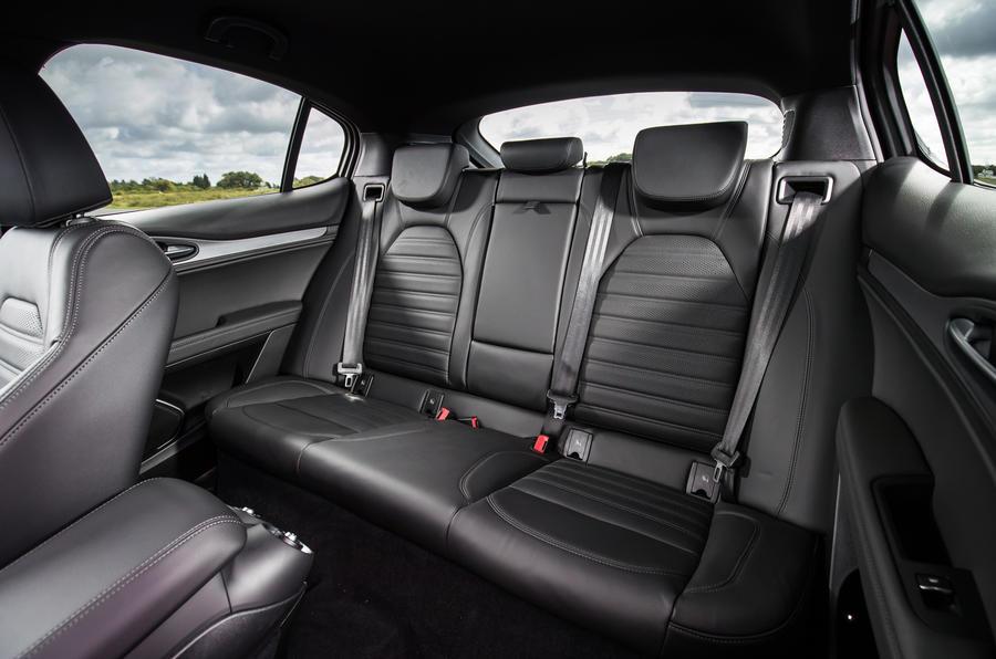Alfa Romeo Stelvio rear seats