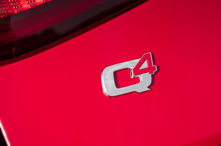 Alfa Romeo Stelvio Q4 badging