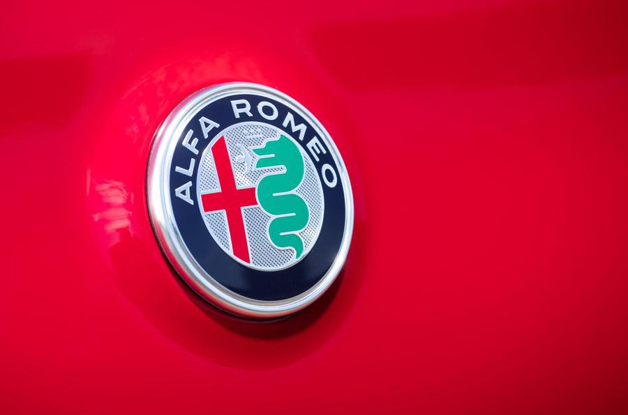 Alfa Romeo Stelvio badge
