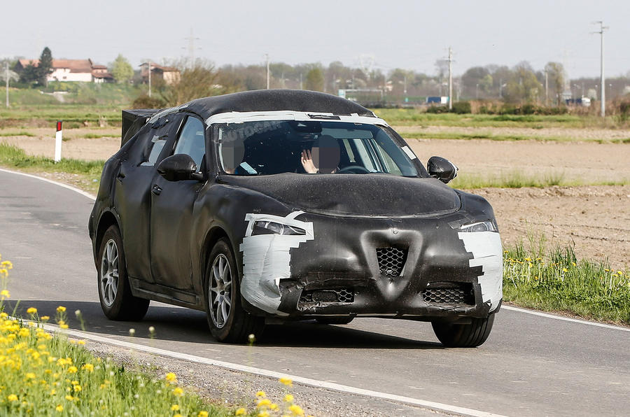 Alfa Romeo Stelvio mule