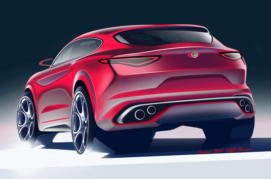Alfa Romeo Stelvio SUV revealed – new pictures