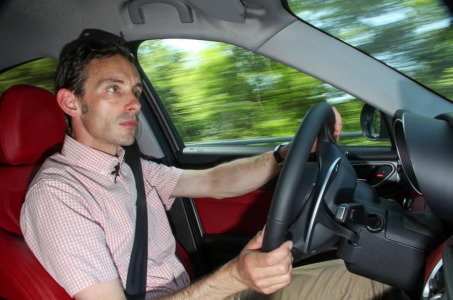 Driving the Alfa Romeo Giulia Veloce